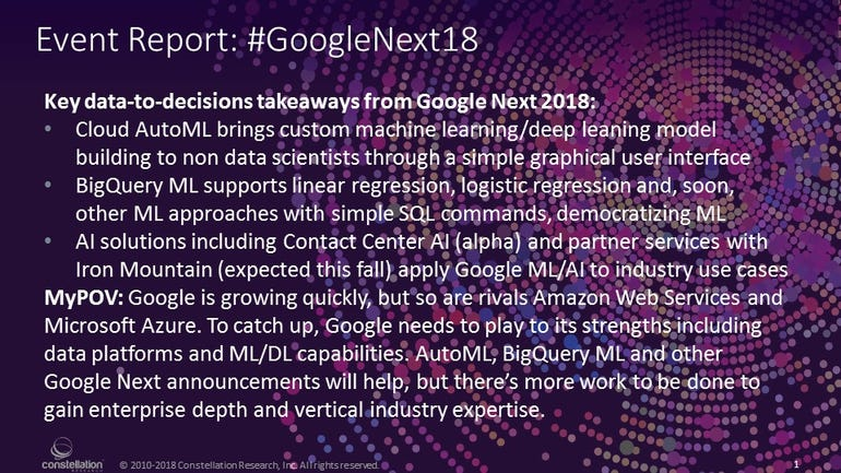 Google Next 18