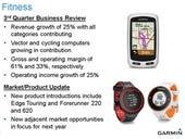 Garmin navigates GPS, wearable computing curves via fitness devices