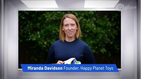 Miranda Davidson, Founder, Happy Planet Toys