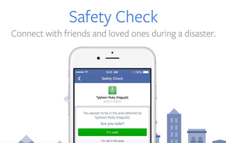 Facebook's Safety Check