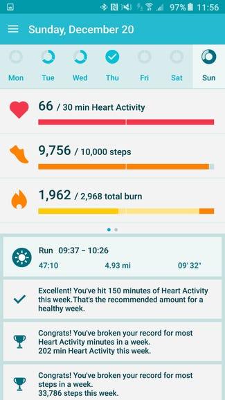 Moto Body smartphone app