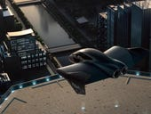 Porche designs a flying car (and it looks like a Batmobile)