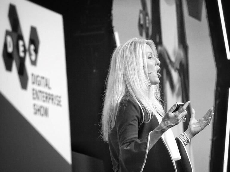 Tamara McCleary at Digital Business World Congress 2018