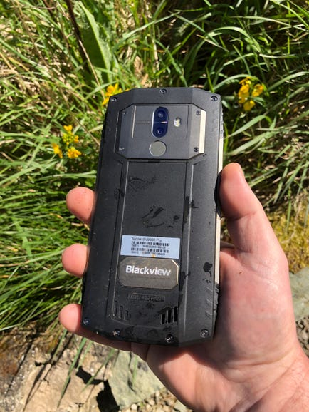 Durability testing the BV9000 Pro