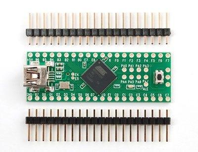 Teensy++ (AT90USB1286 USB Dev Board) and Header Kit