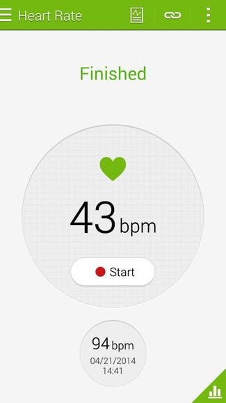 Measuring your heart rate