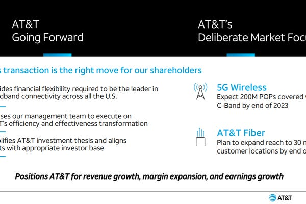 AT&T refocuses on 5G, combines WarnerMedia with Discovery in $43 billion deal