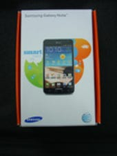 Image Gallery: Galaxy Note retail package
