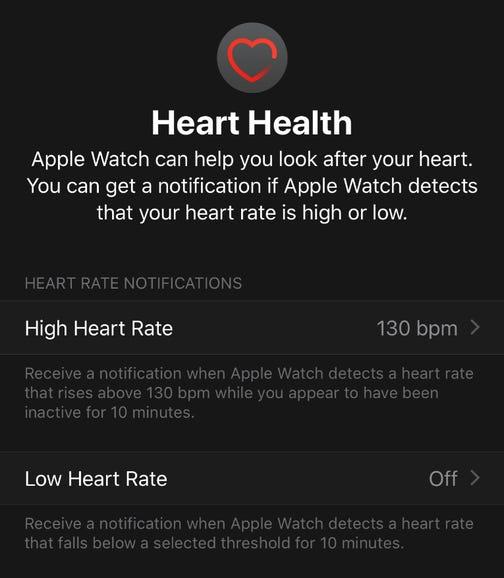 Health is a major focus