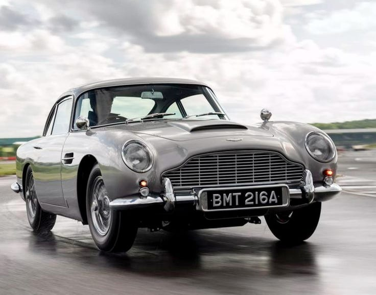 Aston Martin DB5, Goldfinger (1964)