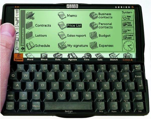 1997 — Psion Series 5 handheld