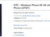 First Windows Phone 8 devices up for preorder for $100, $150 at Best Buy