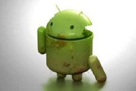 Blown Up Android