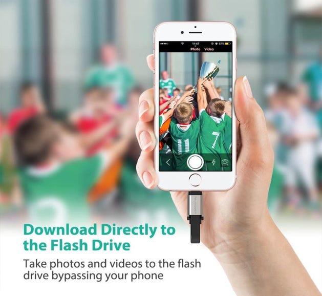 RAVPower iPhone Flash Drive
