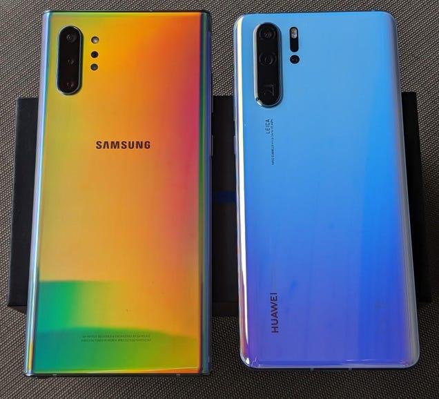 Note 10 Plus vs Huawei P30 Pro