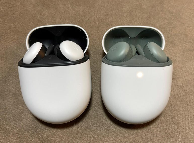 Google Pixel Buds vs Buds A Series, cases