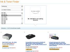 Amazon Ink & Toner Finder