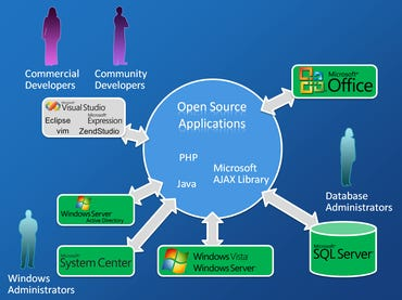 Microsoft's open-source strategy: A picture is worth a thousand words