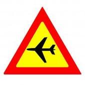 aeroplane sign