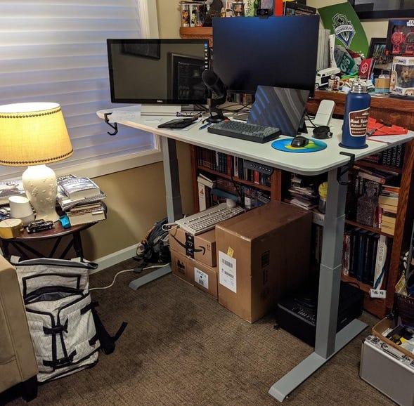 Vari ESD setup and ready for use
