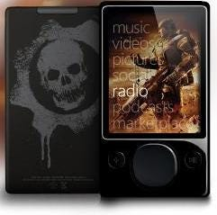 Gears of War 2 special edition Zune 120 available