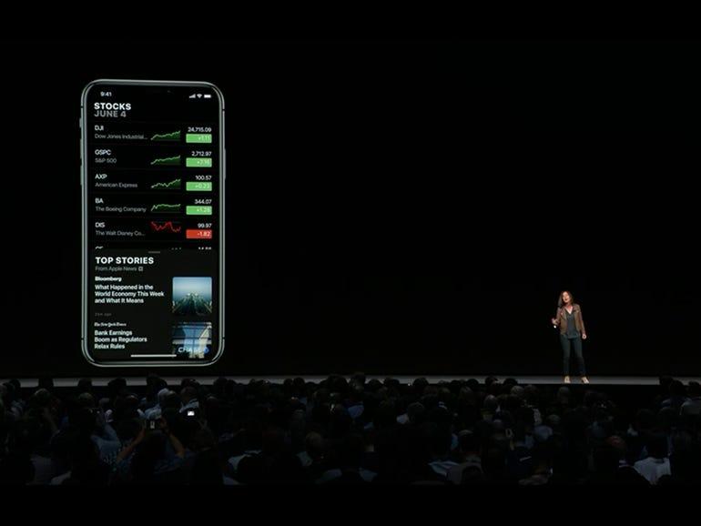 iOS 12: Stocks has News and is coming to iPad, Mac