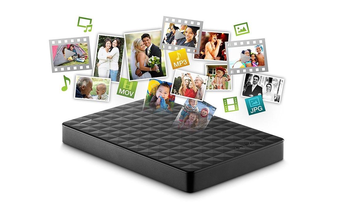 Seagate 1TB USB 3.0 portable 2.5-inch external hard drive