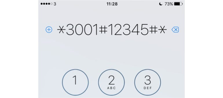 Your iPhone's has a hidden signal strength meter