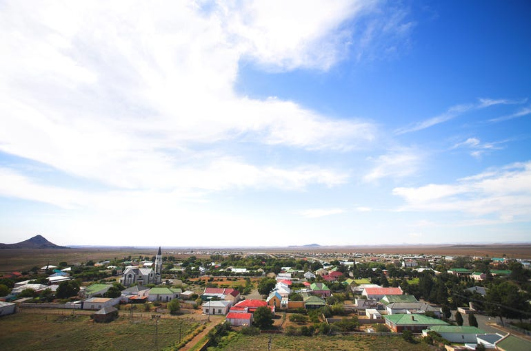 south african town