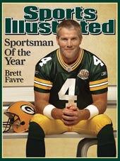 Brett Favre Sportsman of the Year cover