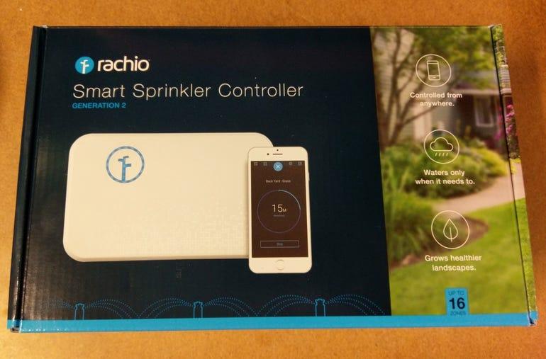 Rachio Smart WiFi Sprinkler system retail package