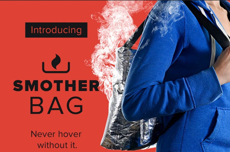 The smother bag