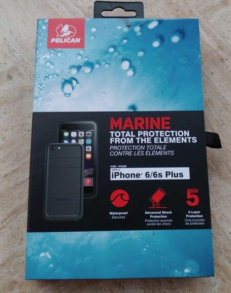 Pelican Marine waterproof case for the Apple iPhone 6s Plus