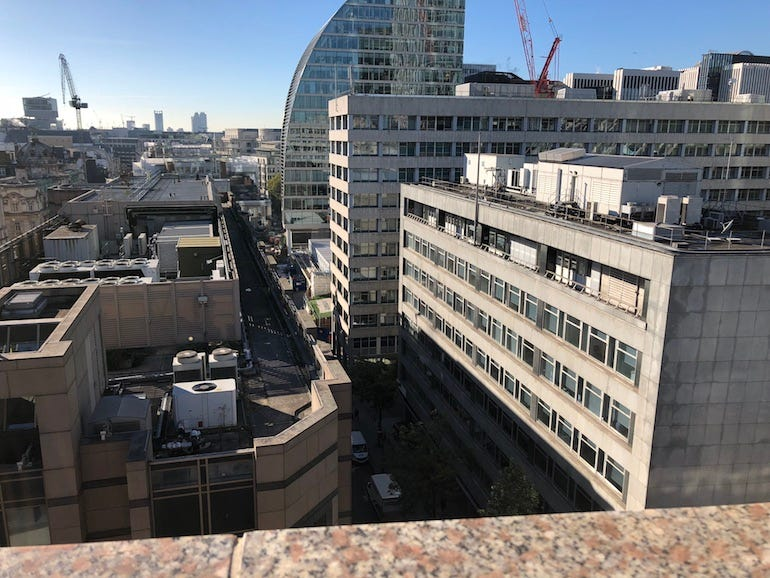 5G site in London