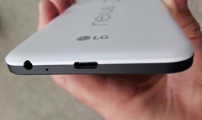 Bottom of the Nexus 5X