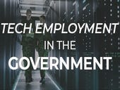 Tech employment in the government