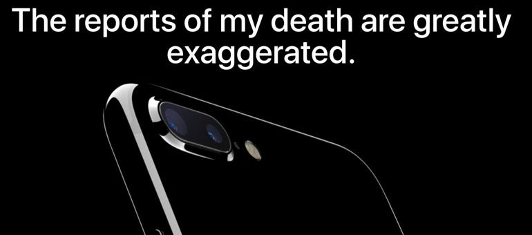 """Please, stop it with the """"smartphone is dead"""" nonsense"""
