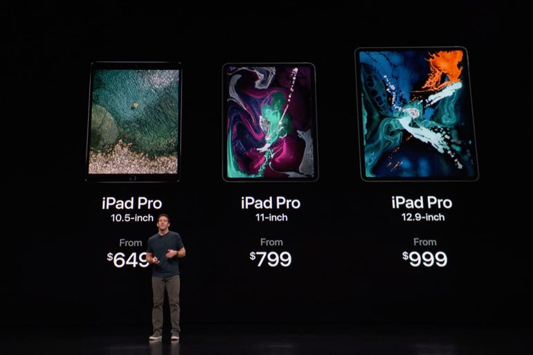 iPads: New iPad Pro pricing and availability