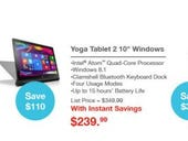 Lenovo Black Friday 2015 ad features Yoga Windows tablet, ThinkPad laptop deals