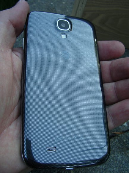 Back of the S4