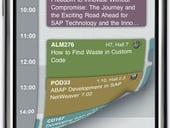SAP iPhone event scheduler