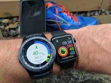iPhone running companion: Can the Samsung Gear S3 beat the Apple Watch Series 2?