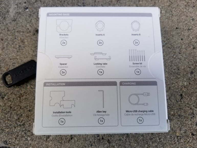 Included parts and directions