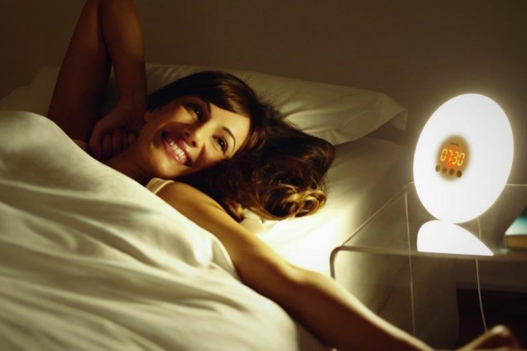 Philips Wake-Up Light Alarm Clock (around $46)