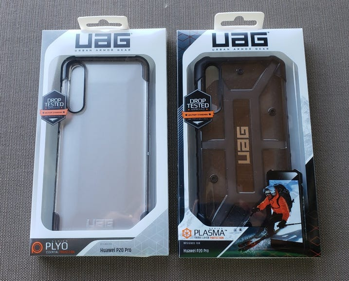 UAG Pylo and Plasma for the Huawei P20 Pro