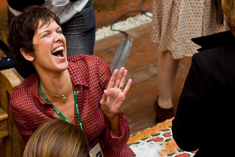 Lucia Freitas, journalist and founder, LuluzinhaCamp