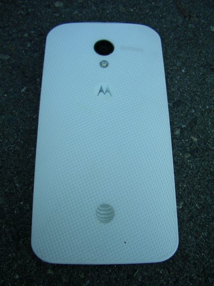 Back of the Moto X