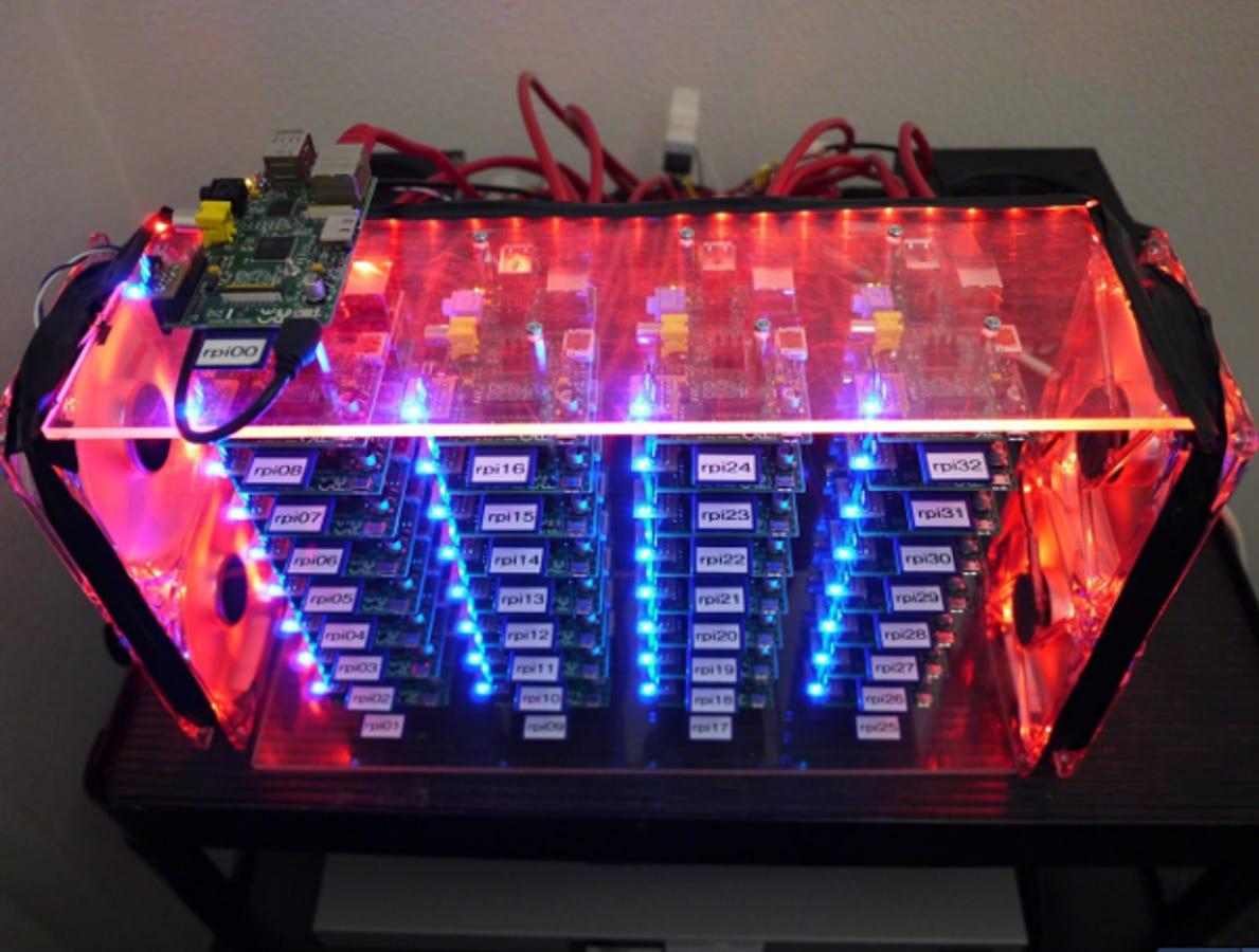 bitcoin mining raspberry pi cluster)