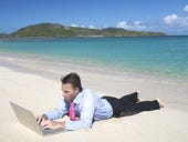 More adults work while on vacation than ever before