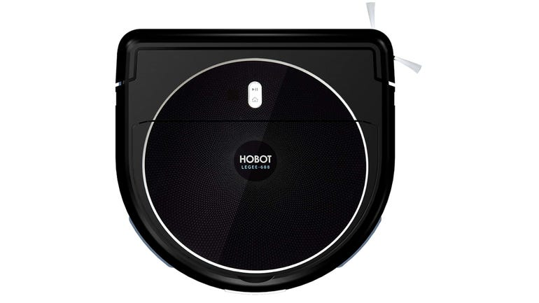 Hobot Legee-688 two-in-one robot vacuum review novel shape–but no app connectivity zdnet